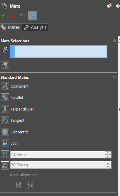 What are the assembly mates in SolidWorks? - Quora