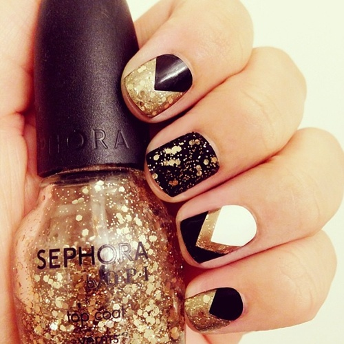 What Color Nail Polish With A Black Dress: What Nail Polish Should I Wear With A Gold Shoes For A