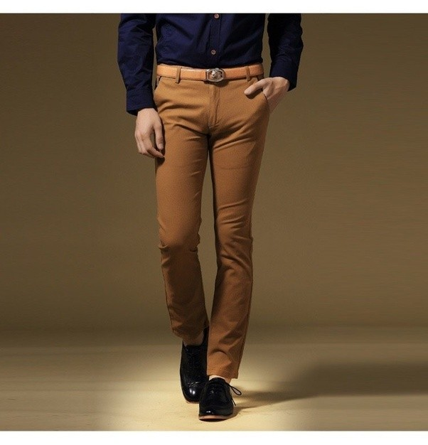 What colors match with brown pants? - Quora