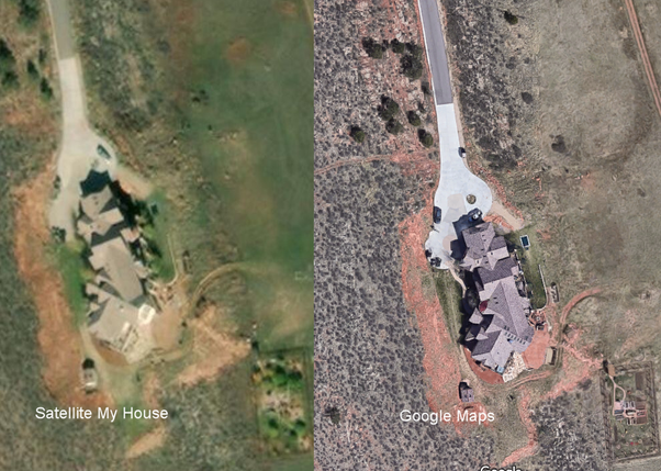 Can I See The Recent Satellite Pictures Of My House Quora