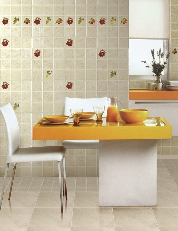 What Are The Tiles Used In Kitchen Walls Quora