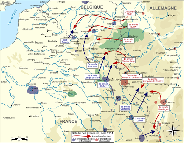 What if the Germans had attacked France through the ...