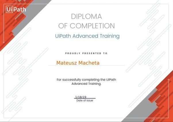 What are the different types of UIPath certification? - Quora