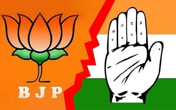 Image result for BJP vs Congress
