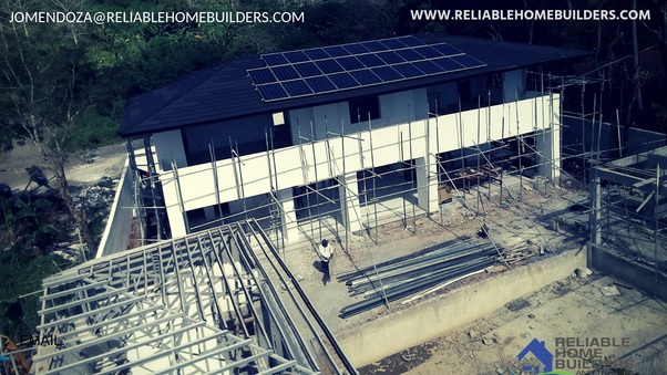 What's the estimated cost of building a house in the Philippines in