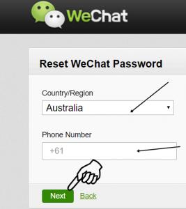 Wechat login blocked self-service unlock allowed - ovufchafi