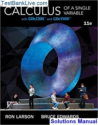 Where Can I Download The Solutions Manual For Calculus Of A Single