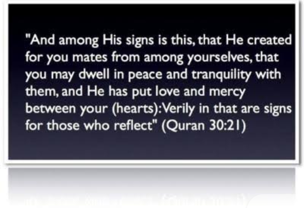 man and woman relationship in quran