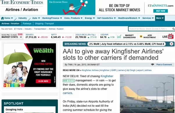 financial statement analysis of kingfisher airlines Financial ratios analysis of kingfisher airlines ltd - the key ratio of kingfisher airlines ltd company, including debt equity ratio, turnover ratio etc.