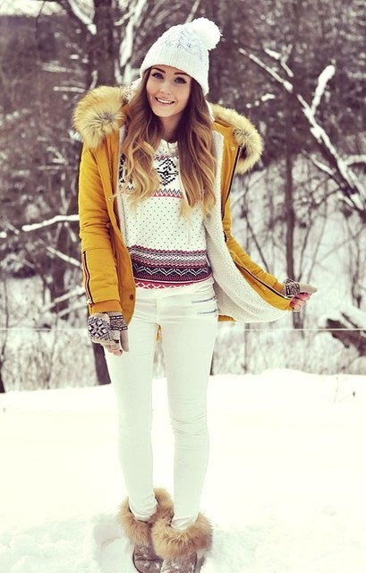 what are cute outfits to wear in winter quora. Black Bedroom Furniture Sets. Home Design Ideas