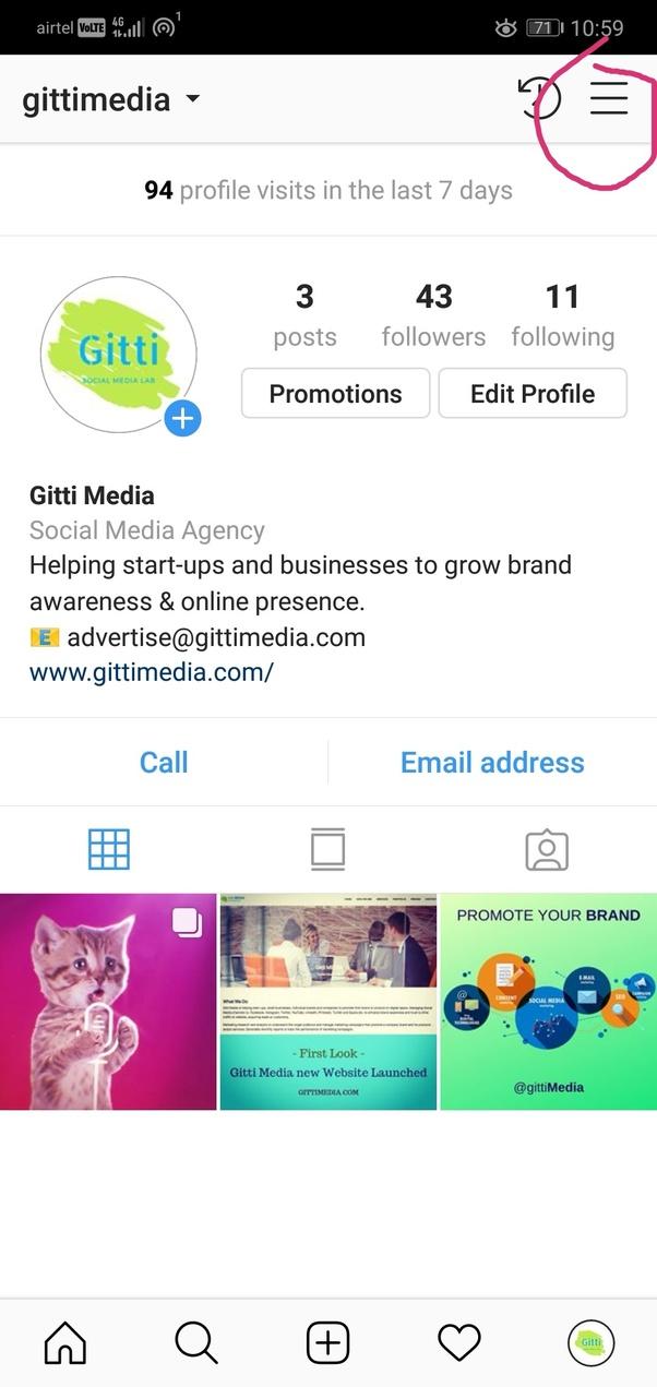 How to remove 'promote ' below my Instagram photos - Quora