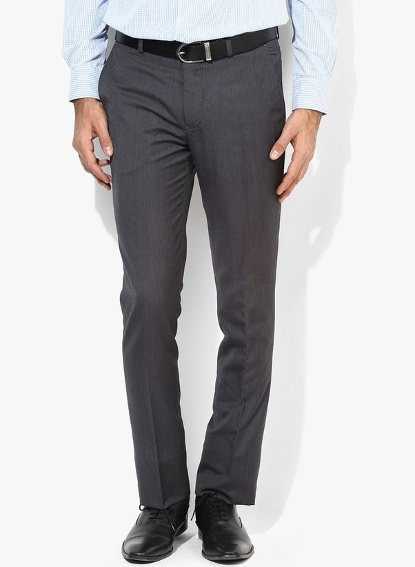 which pants match the best with a grey shirt quora