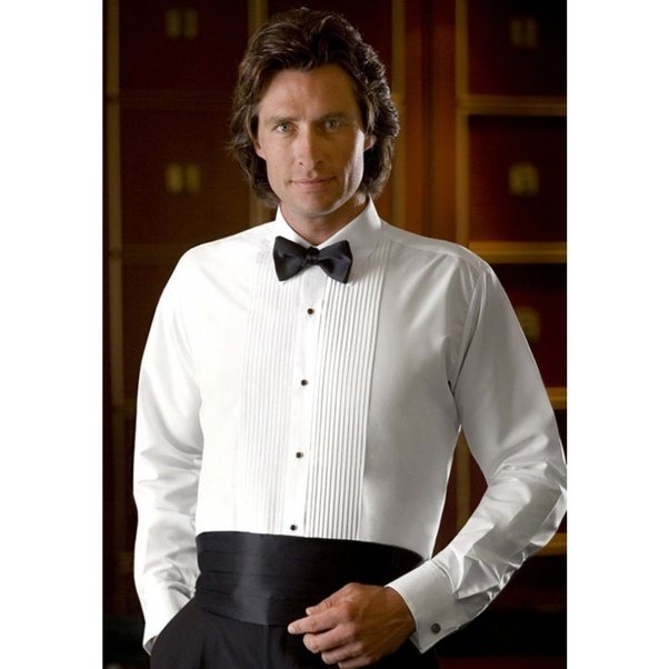 What is best shirt and tie combination with black tuxedo for Black shirt and tie combinations