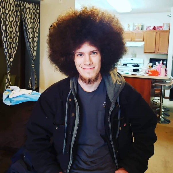 How Does A White Person Grow An Afro Quora