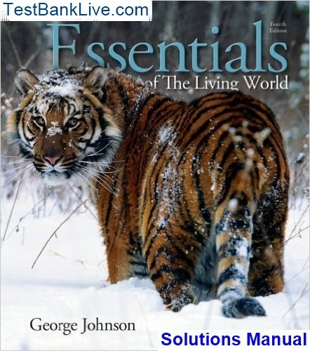 Amazon. Com: essentials of the living world (9780073525471): george.