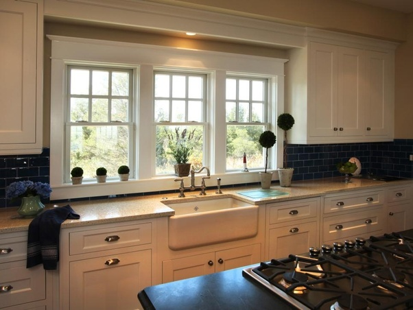 Why Do Most Kitchens Have The Sink Facing A Window Quora