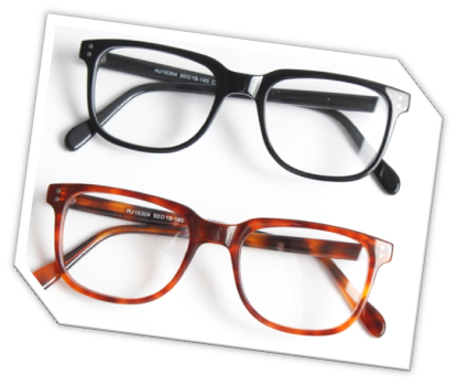 Where can I find glasses with long temples and normal lens ...