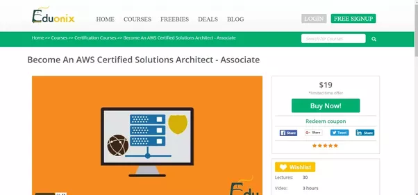 What is the best resource for learning aws quora this course by eduonix is a good course for anyone who is looking to take the solutions architect associate exam the course breaks down the core fandeluxe Gallery
