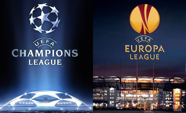 What is the difference between the UEFA Champions League and