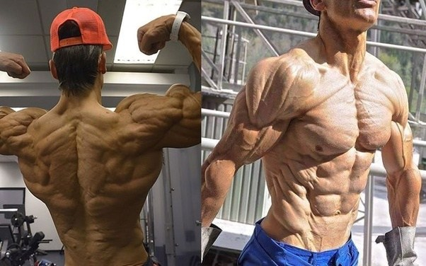 Is it healthy to have a ratio of 100% lean muscle and 0% body fat ...