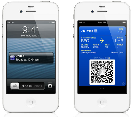 How will Apple's new mobile wallet Passbook impact other mobile wallets?