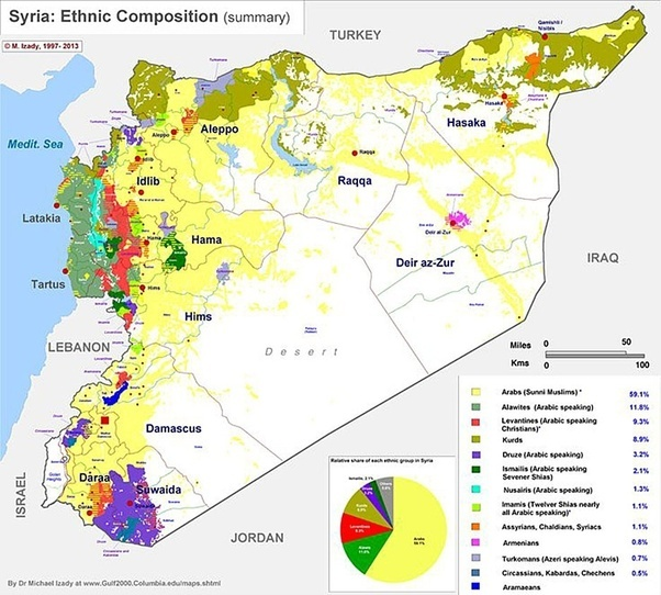 How many Kurds live in Syria? - Quora