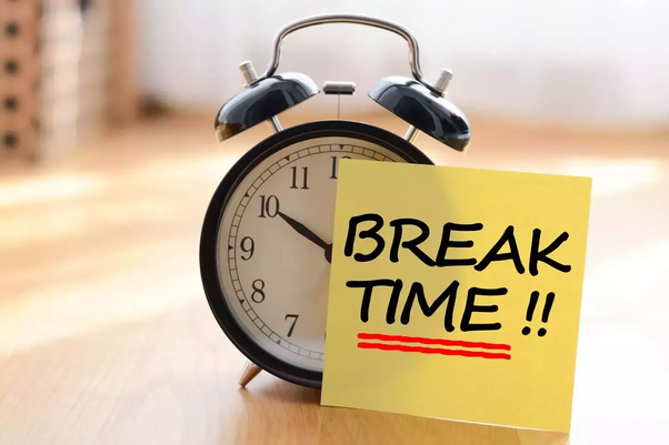 What should I do in my 10-minute study breaks? - Quora