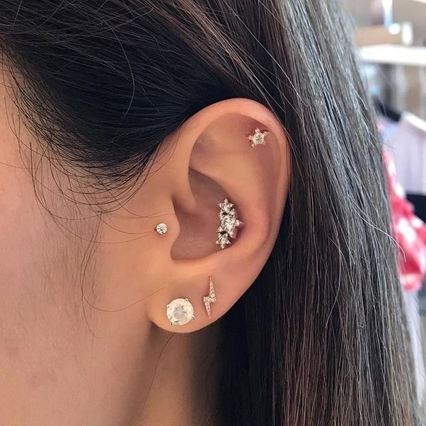 What Are Some Pictures Of Conch Piercings Quora