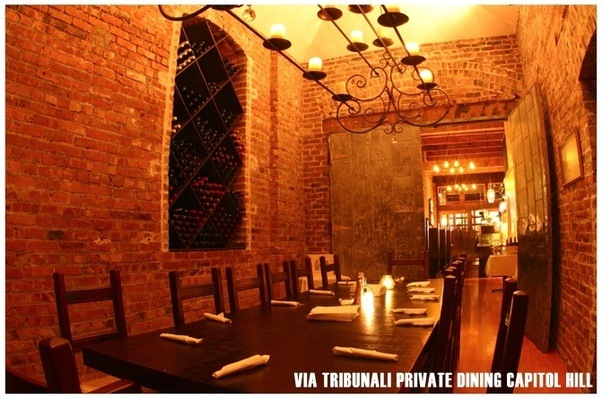 I Once Had A Birthday Dinner At Via Tribunali In Capitol Hill On Pike St.  For About 14. I Loved How It Was Tucked Away In The Back Of The Restaurant  And ...