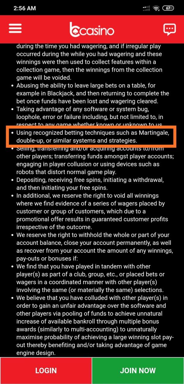 Martingale betting system illegal immigration bettinger nicole ari