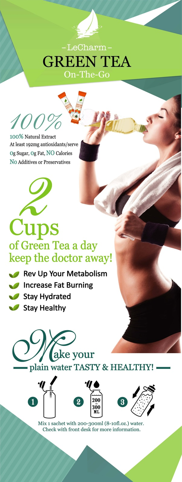what are some benefits of daily consumption of green tea