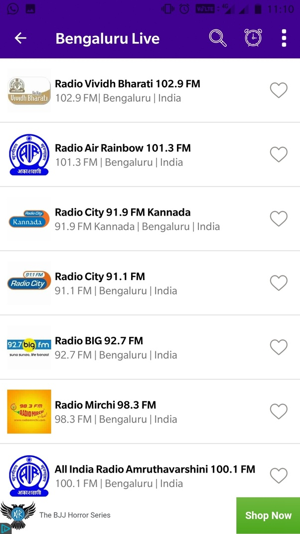 What is the difference between the normal FM radio and online radio