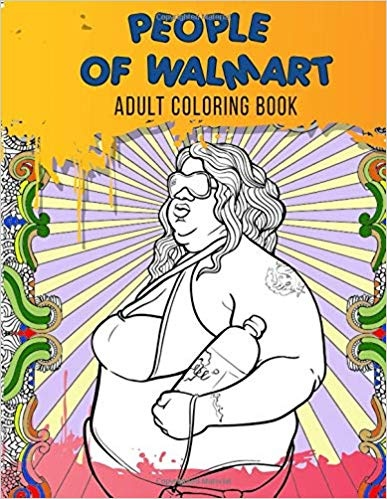 Where can I download 'People of Walmart Adult Coloring Book