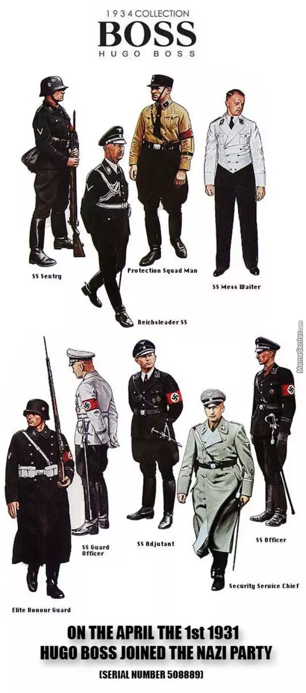 Why Do German Wwii Uniforms Look So Cool Quora Samsung Galaxy S8 Baby Skin Ultra Thin Hard Case Red 121703 Boss Joined The Nazi Party In 1931 And Soon Afterwards Adopted His Design As Standard Ss Uniform Profits Increased Six Fold After