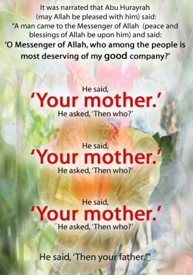 in islam is your wife more important to you than your mother quora