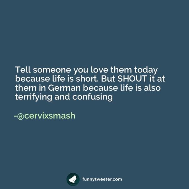Goodnight my love german translation
