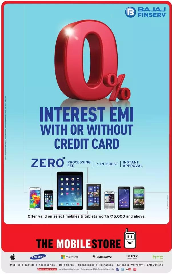 Why does Flipkart offer EMI schemes for HDFC, ICICI, Citibank Bank ...