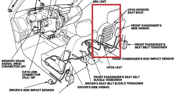 Is there a known error that causes the air bag light to turn on in a