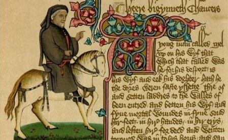 english poetry during chaucers age 50 multiple type questions on english literature  the one that became the standard english in chaucer's time is  which of the following took place during 1455 .