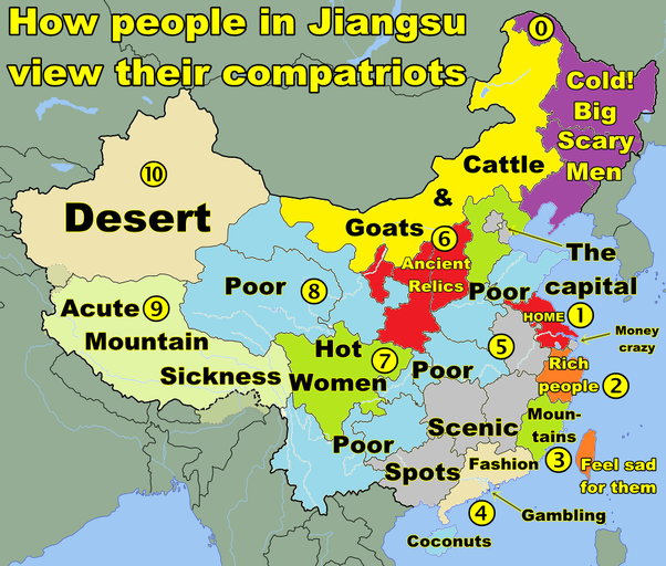 What are the characteristics of Chinese provinces? - Quora