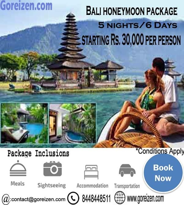 Bali Indonesia Honeymoon