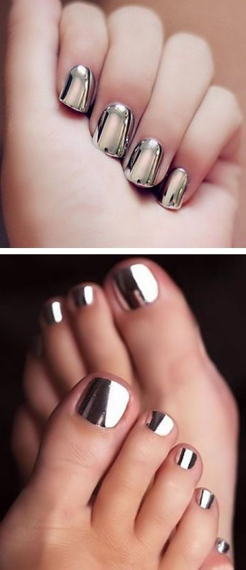 Do you prefer acrylics or using your own nails when you go