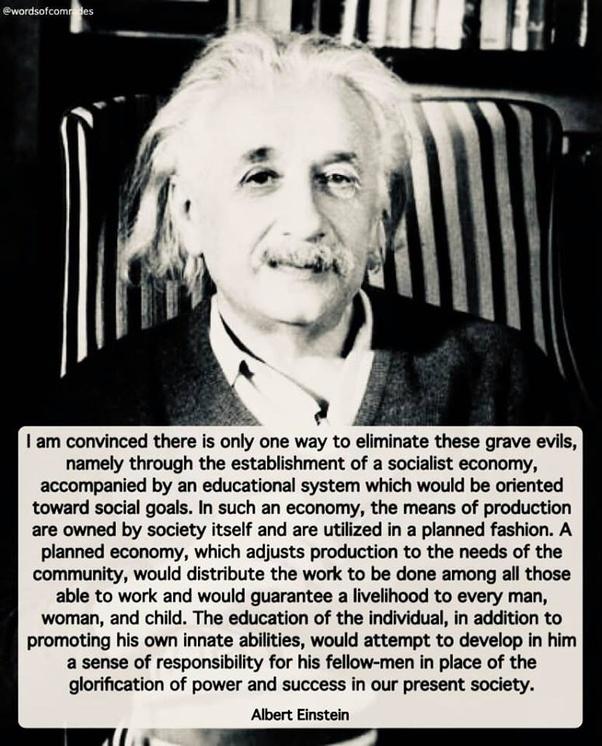 Why Was Einstein A Socialist Quora