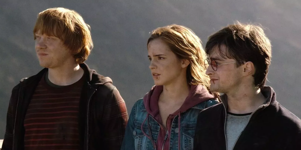 harry ron and hermione