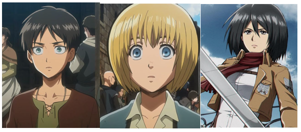 How Old Are Eren Armin Mikasa And Levi From Attack On Titan Quora Supergirl was our shortest at 5'5 before wasp came in at 5'4, and we had wonder woman come in standing 6'0 tall, and mystique at 5'10, and storm 5'11 mikasa and levi from attack on titan