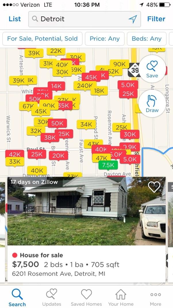 Houses In Detroit