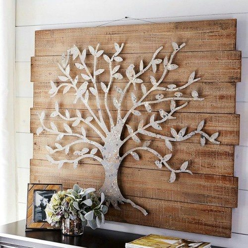 Antique Tree Wall Art