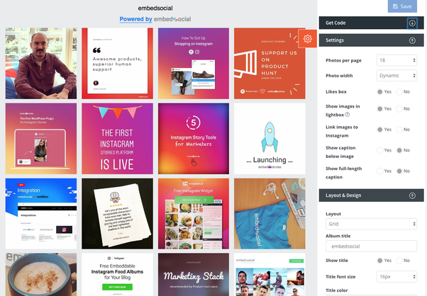 How to embed Instagram profile feed on my website - Quora