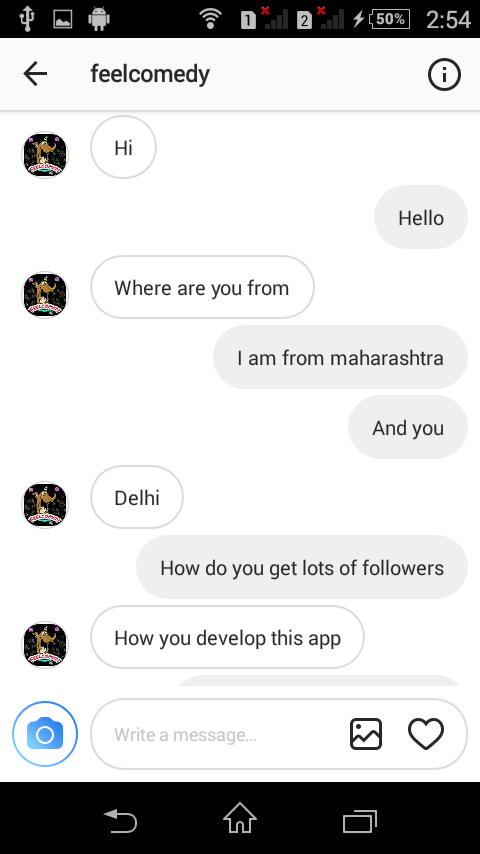 how to find conversations on instagram