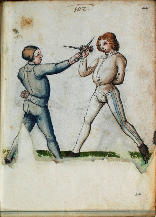 Is the reverse grip of any practical use in sword duels? - Quora